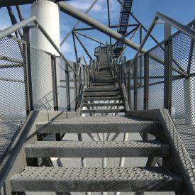 Tetraeder Treppe